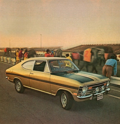 A '68 Buick Opel Kadett. Mine was canary yellow.