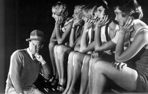 Bert Lahr, thinking