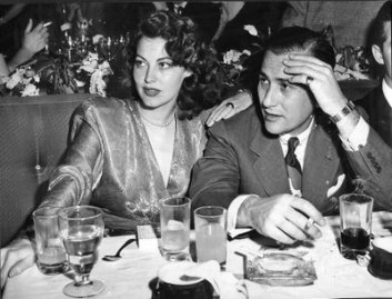 Ava Gardner and Artie Shaw in 1949