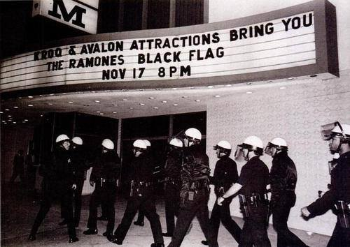 Black Flag at The Palladium way back when.