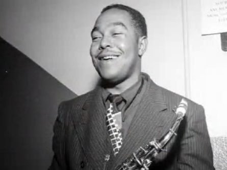 Charlie Parker feeling no pain.