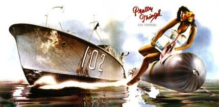 "The Pretty Things ""Silk Torpedo"" album cover."