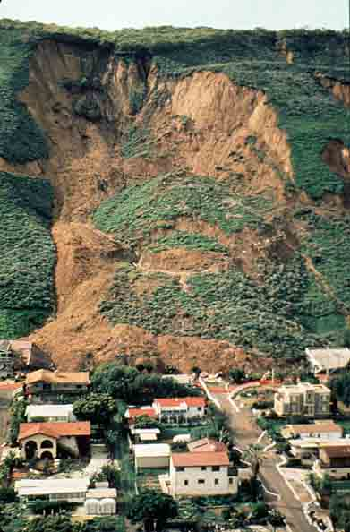 La Conchita mudslide, 1995