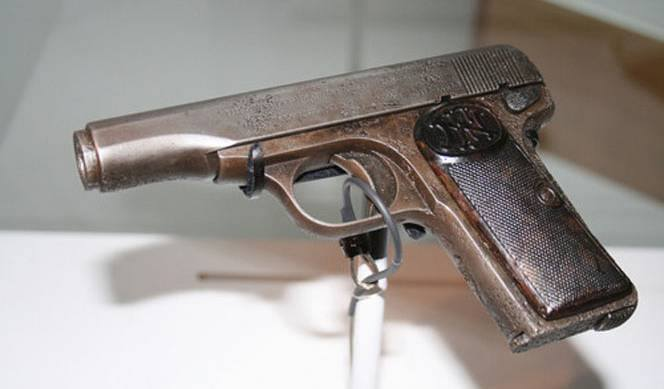 Gavrilo Princip's little gun.
