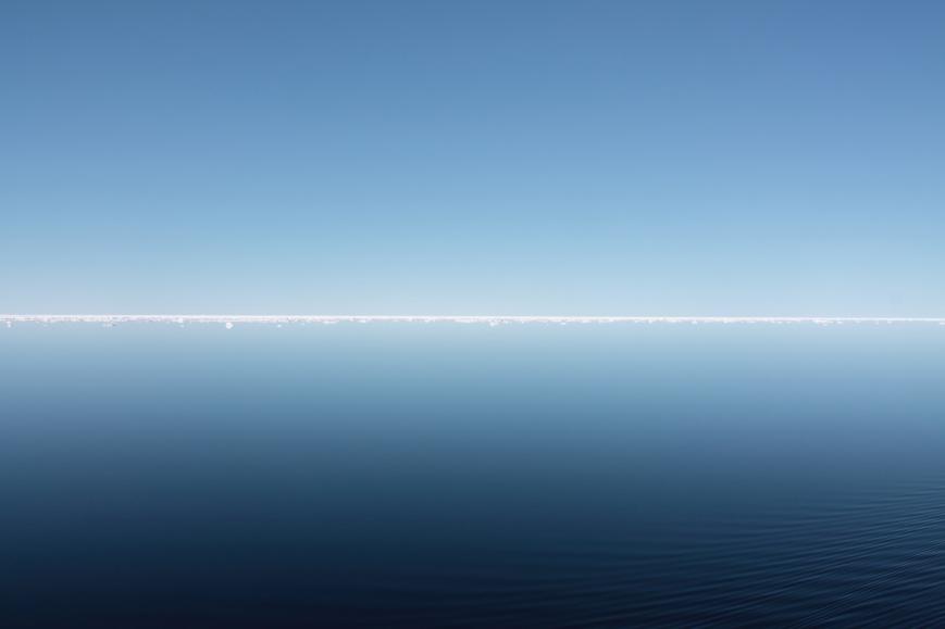 Between Svalbard and Greenland.