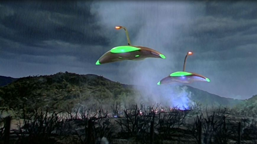 War of the Worlds, 1953. Martians are incinerating Carbon Canyon. No word on the fate of the nudists just up the road at Glen Ivy Hot Springs.