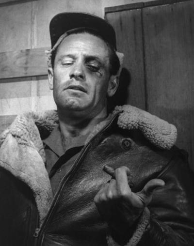 William Holden with cool scar. Mine was in the middle of my forehead, longer, and real.