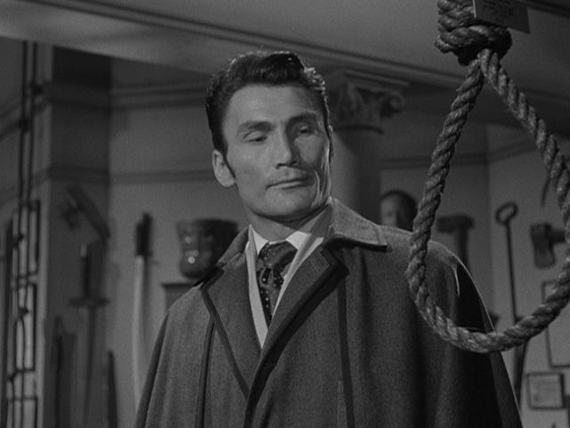 Jack Palance in the Lodger.