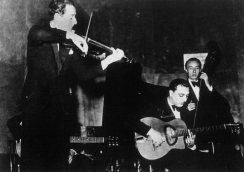 Stephane Grappelli and Django mid-creation, 1935