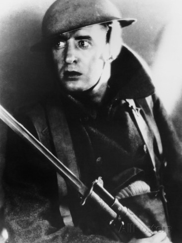 John Gilbert in The Big Parade (1925).