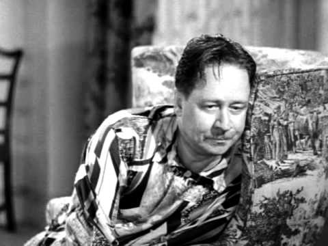 "Robert Benchley in ""How to Start the Day"" (1937)."