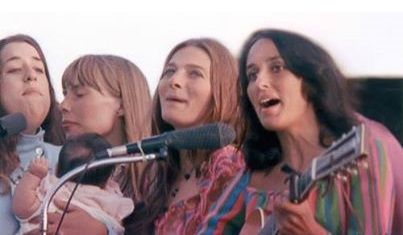 Cass, Joni, Judy, Joan and young whippersnapper.