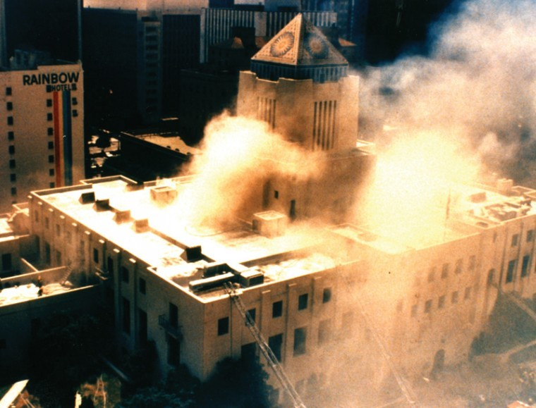 Los Angeles Central Library, April 29, 1986.