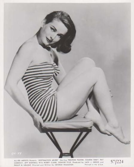 Coleen Gray, though perhaps some of you know that already.