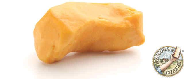 A cheese curd. Normally they come in little herds, packed in a vacuum sealed bag.