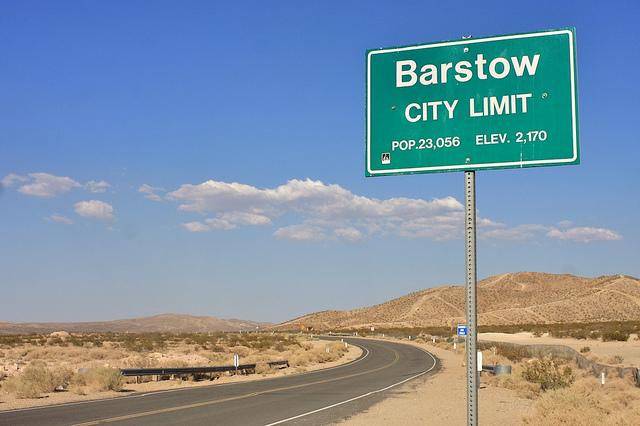 barstow sign